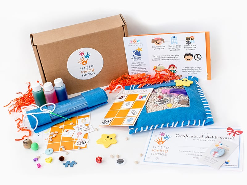 Hello wonderful little loving hands 39 craft kits for a for Craft subscription box for adults