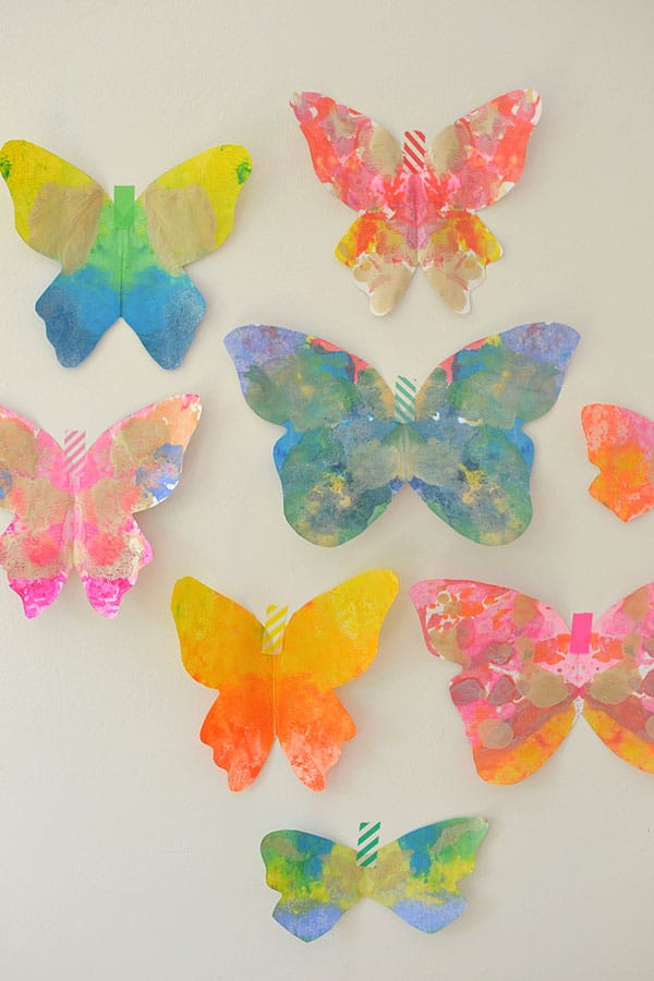 Hello Wonderful 13 Colorful Butterfly Crafts For Kids