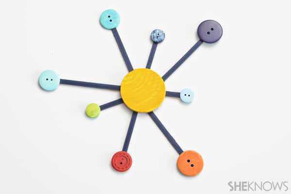 easy solar system craft printable - photo #29