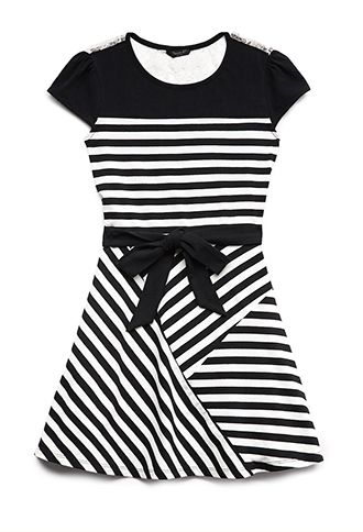 hello- Wonderful - 5 CHIC BLACK AND WHITE DRESSES FOR GIRLS