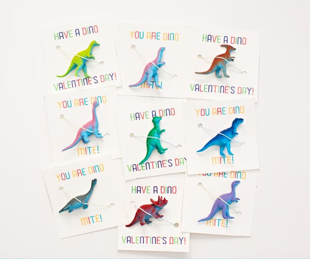hello Wonderful AWESOME DINOSAUR VALENTINE FAVORS WITH FREE – Valentines Card Print out