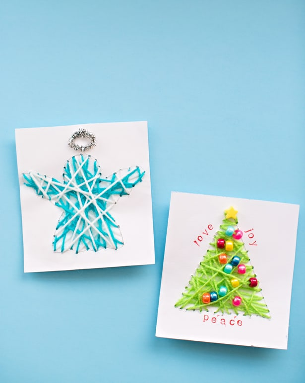Made christmas cards check out more festive holiday ideas for kids