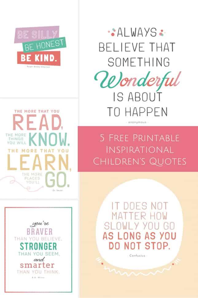 Hello Wonderful 10 Free Printable Inspirational Prints