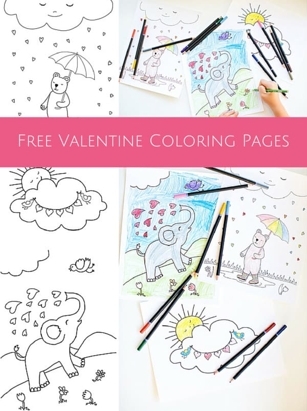 Yogurt Colouring Pages : Hello wonderful free printable valentine coloring pages