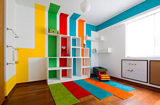 Hello Wonderful 8 BRIGHT AND COLORFUL PLAYROOMS