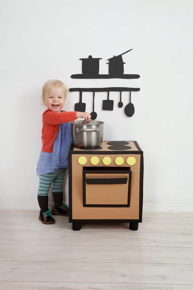 Hello Wonderful 12 Awesome Diy Play Kitchens