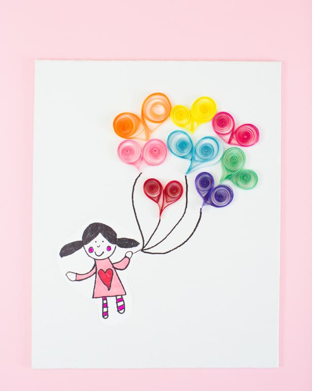 Hello Wonderful Easy Paper Quill Art For Kids Heart
