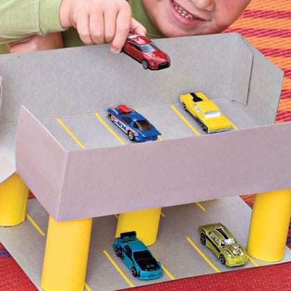 how to make a cereal box car 3