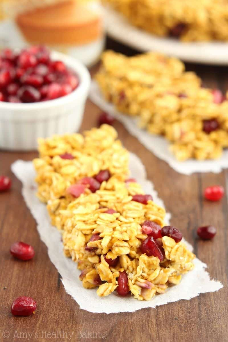 Chocolate Pomegranate Granola Bites Recipes — Dishmaps