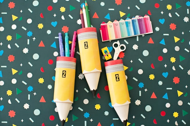 Hello, Wonderful - Paper Pencil Tube Craft With Free Printable