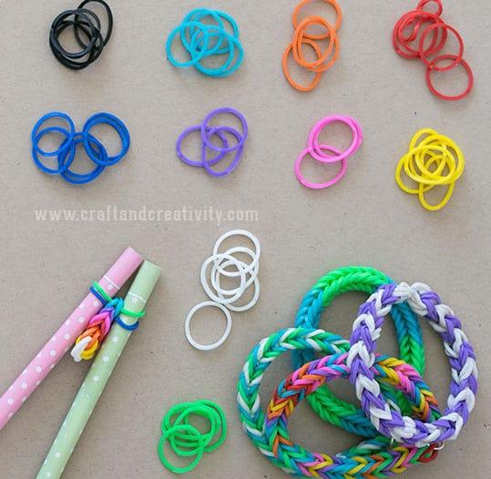 Hello Wonderful Diy Pencil Loom Bracelets
