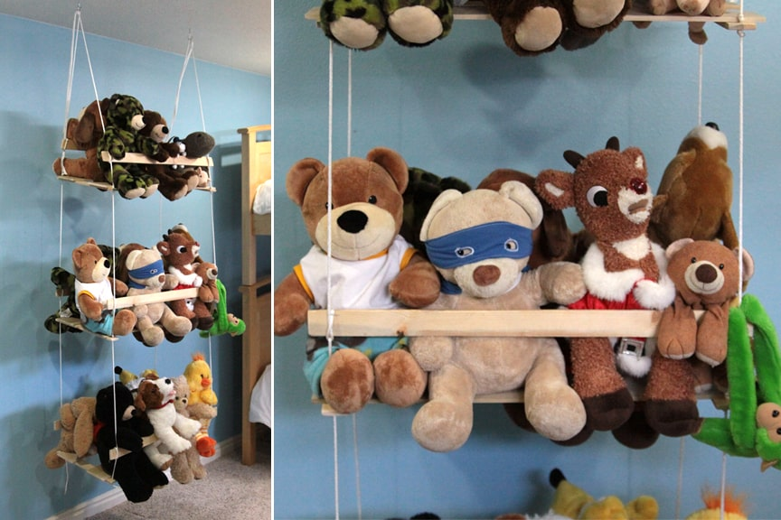hello, Wonderful - 17 CLEVER TOY STORAGE IDEAS TO MAKE OR BUY
