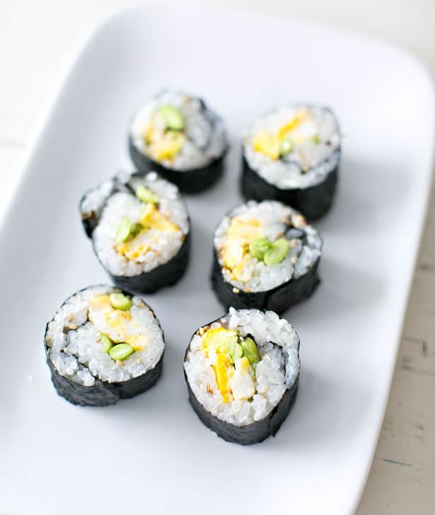 Egg Sushi Recipe Hello, wonderful - sushi kids will actually eat