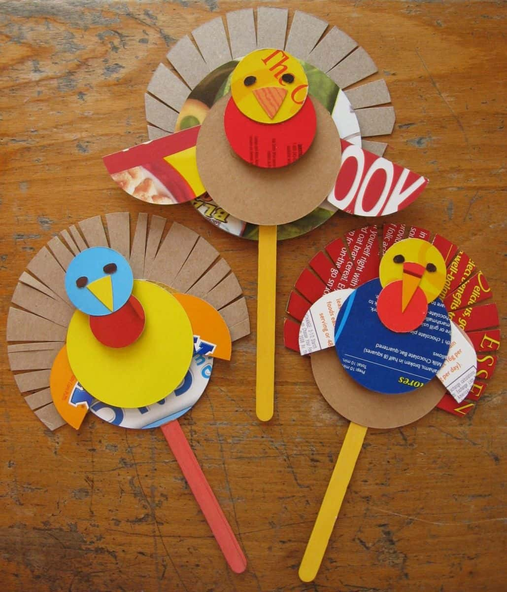 Hello wonderful 15 terrific kids 39 thanksgiving crafts for Thanksgiving craft ideas for kindergarten