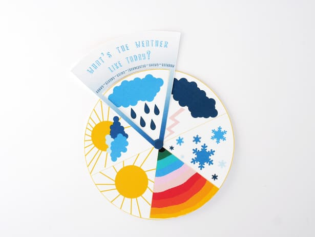 FREE PRINTABLE WEATHER LEARNING WHEEL