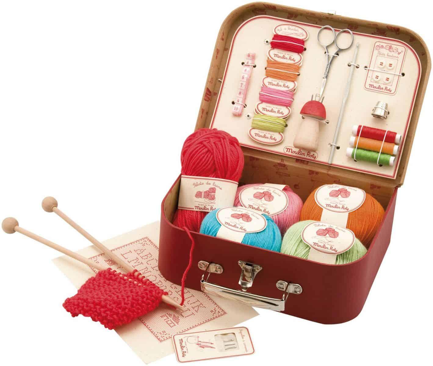 Knitting Set : Hello wonderful beginner s sewing and knitting kit